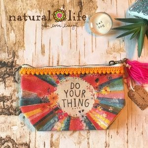 Natural Life Coin Pouch